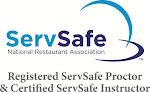 Certified ServSafe Instructor and Registered ServSafe Examination Proctor for NRA