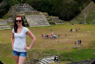 the mayan ruins of altun ha in belize