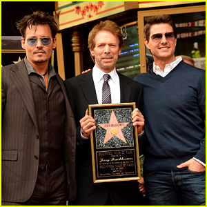 Johnny Depp and Tom Cruise attended unveiling of Jerry Bruckheimer's star on Hollywood Walk of Fame
