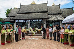 Unique Starbucks Designs in Thailand
