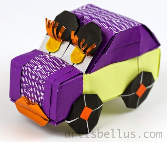 Origami Decorations: Beetle