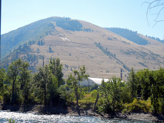 We hiked to the M on the hillside of Missoula, Montana