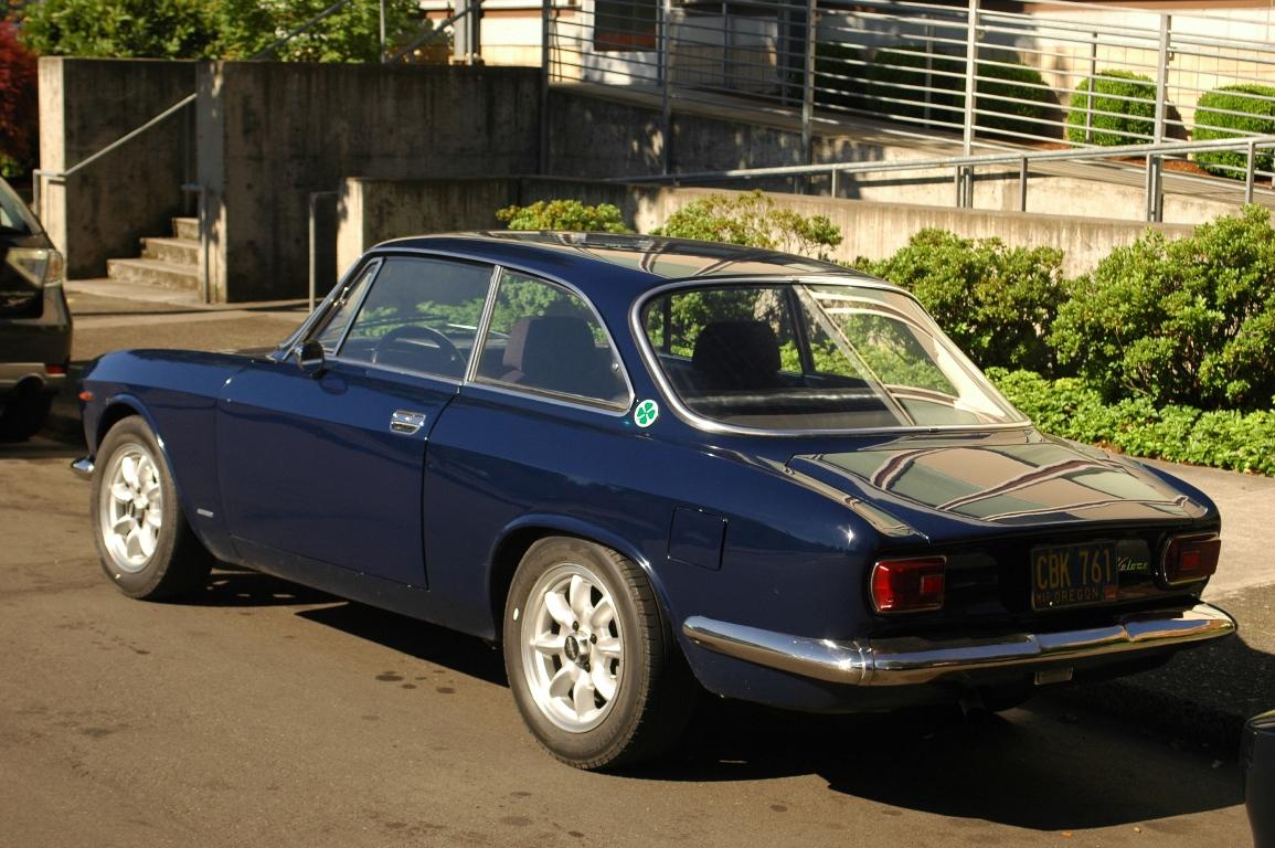 1967 Alfa Romeo GTV.