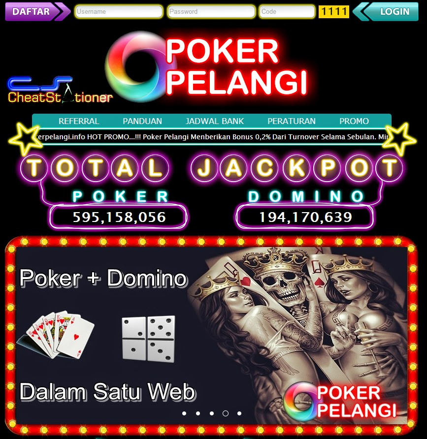 Pokerpelangi agen texas poker domino online indonesia terpercaya free poker online no money