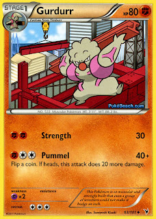 Gurdurr Pokemon Card Noble Victories Set