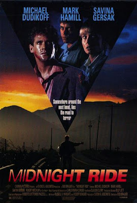 Midnight Ride (released in 1990) - Thriller movie starring Mark Hamill, Michael Dudikoff, Savina Gersak, and Robert Mitchum
