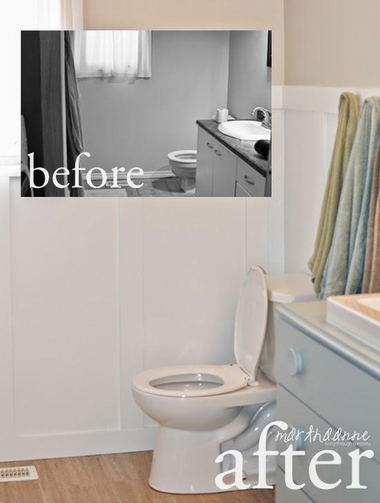Marthaanne Living Through Creativity The New Bathroom On A - New bathroom on a budget