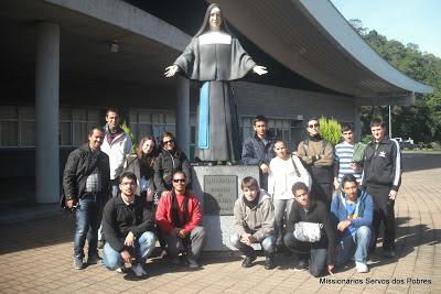 Os Servos dos Pobres no Santuário de Santa Paulina