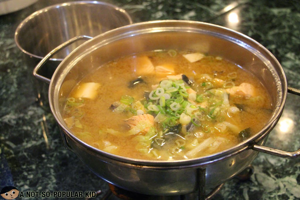 Sinigang Soup with Salmon of Royal Kitchen
