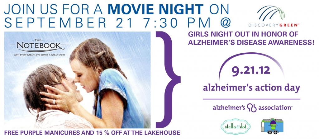 """alzheimer s the notebook So while """"the notebook"""" is a beautifully written love story that is sure to have the audience wiping away streams of tears cascading down their cheeks, in typical film-maker fashion- it is not an accurate portrayal of real-life circumstances that, unfortunately, accounts for 50 to 80% of dementia cases (alzorg)."""