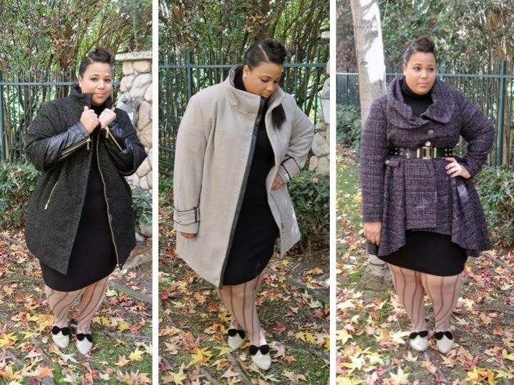 Plus Size blog, plus size coats, Vince Camuto, Calvin Klein, Simplybe