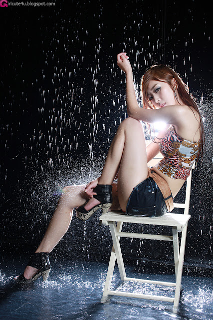 5 Minah - Let it Rain-very cute asian girl-girlcute4u.blogspot.com
