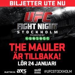 UFC Stockholm 4 | BILJETTER |