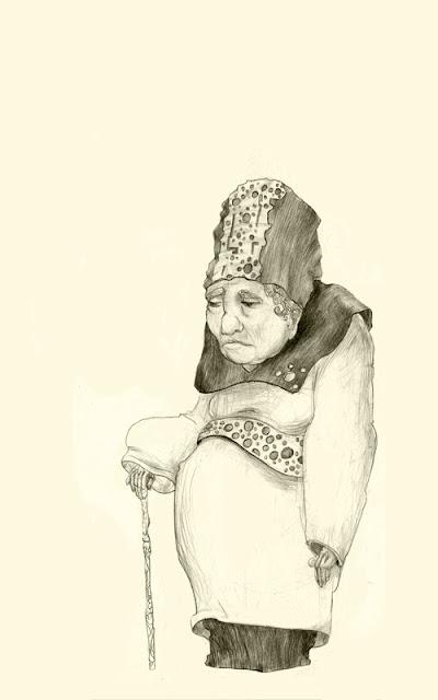 Grand mère sur Moleskine