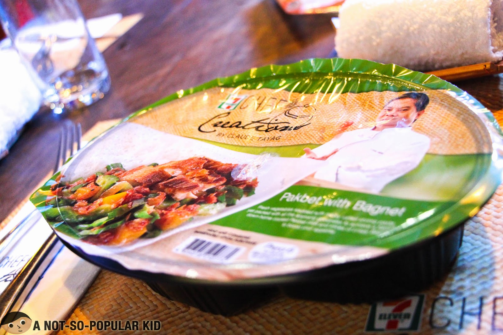 The Pakbet with Bagnet of 7 Eleven's Chef Creations