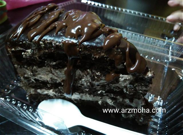 Chocolate Boss Cafe Penang, astaka medan suri, sungai Nibong, Belgian chocolate cake,