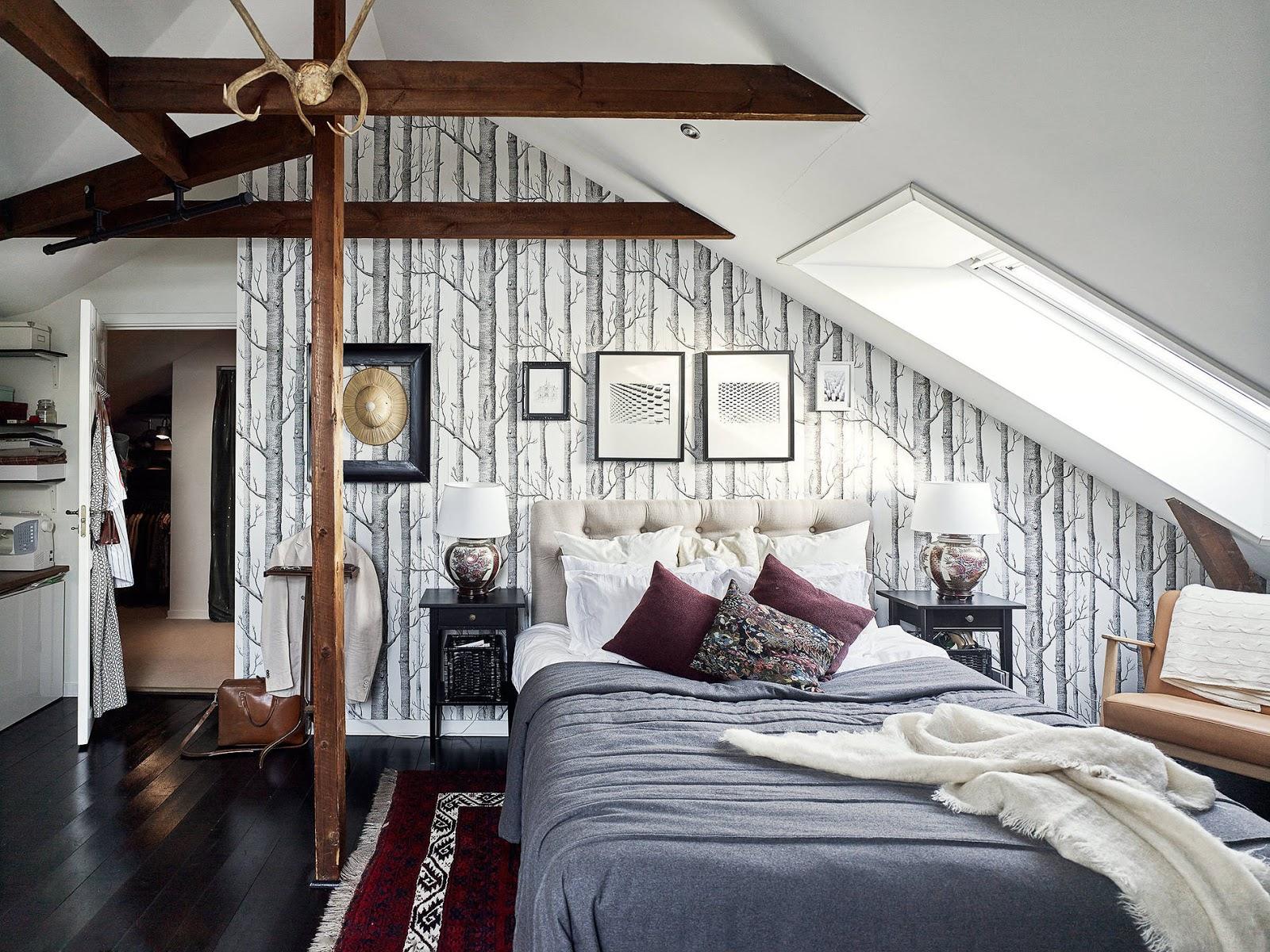 Wandfarbe schlafzimmer dachschrage