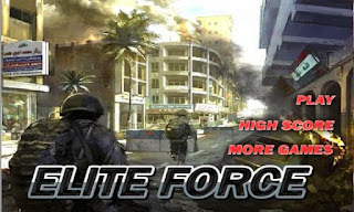 Screenshots of the Elite Force for Android tablet, phone.