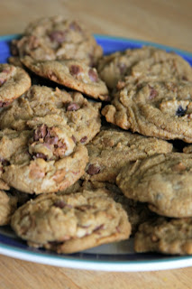chocolate chip cookies, recipe