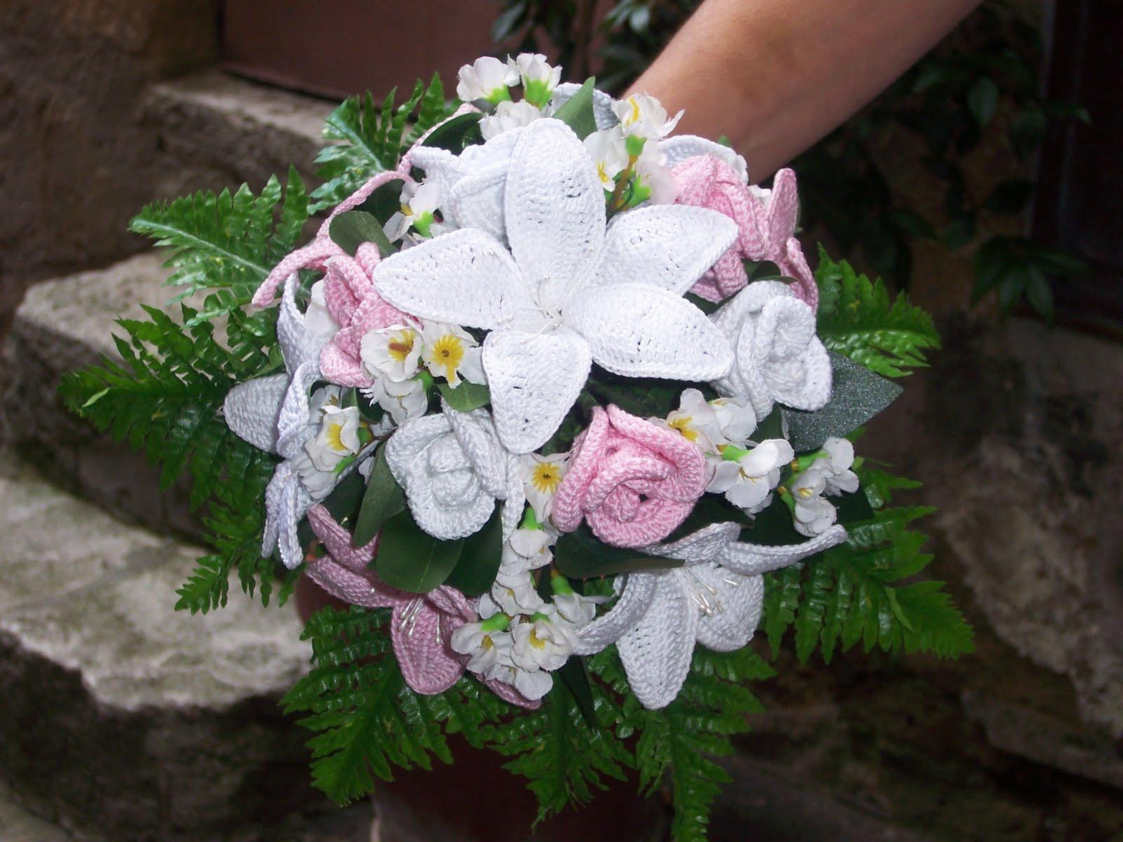 Piante Ad Uncinetto : L uncinetto di franca bouquet fiori all
