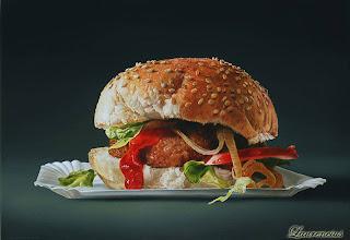 3-Lukisan-Makanan-Karya-Tjalf-Sparnaay-hamburger_2