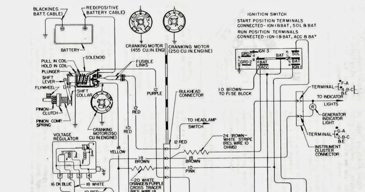 old car alternator wiring diagram