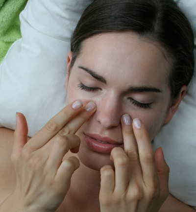 Las máscaras para la persona el resplandor de la piel