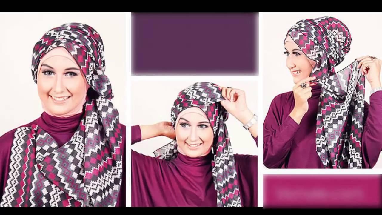 Jilbab Tutorial Ala Fatin Yang Mudah Dan Cantik