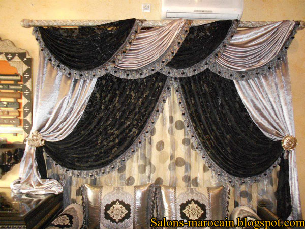 les caches rideaux marocain nouvelle d coration 2013 d coration salon marocain moderne 2016. Black Bedroom Furniture Sets. Home Design Ideas