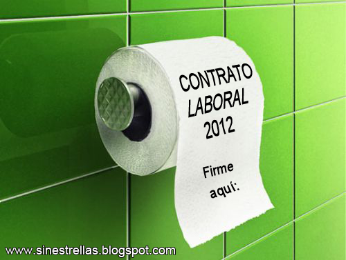29  DE MARZO 2012 TODOS A LA HUELGA GENERAL Contrato_laboral