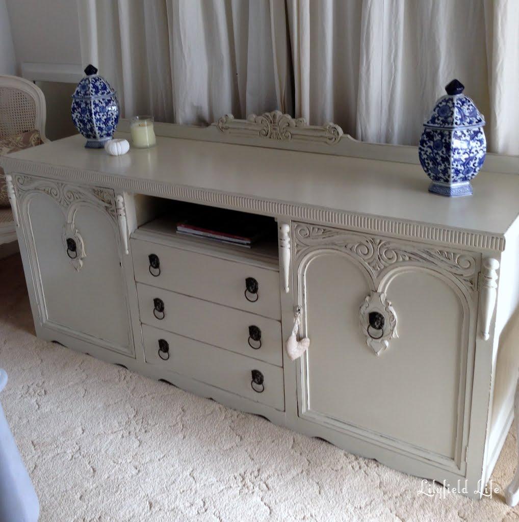 lilyfield life vintage sideboard turned tv cabinet. Black Bedroom Furniture Sets. Home Design Ideas