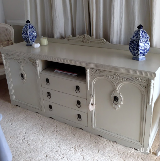 Vintage Sideboard turned TV Cabinet By Lilyfield Life