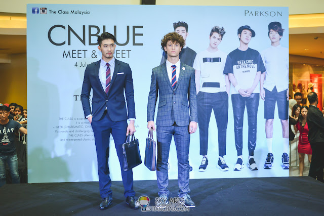 CNBLUE x THE CLASS MALAYSIA Fashion Show: Formal Wear