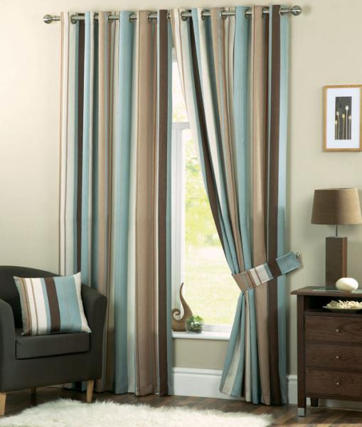 this lovely contemporary eyelet curtain is a great addition to any