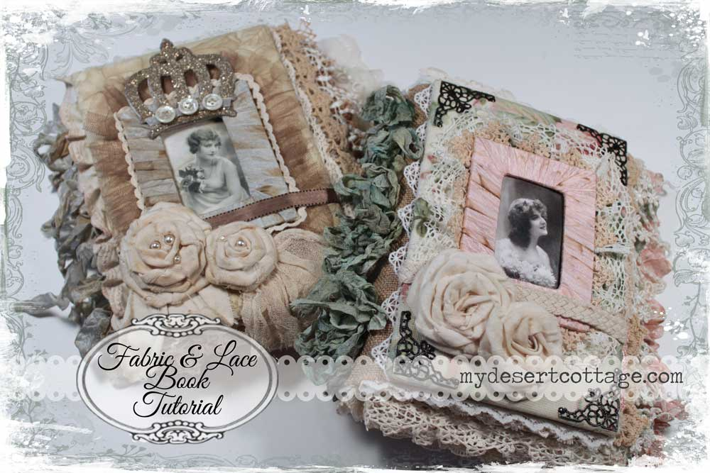 pinterest how to make a lace album