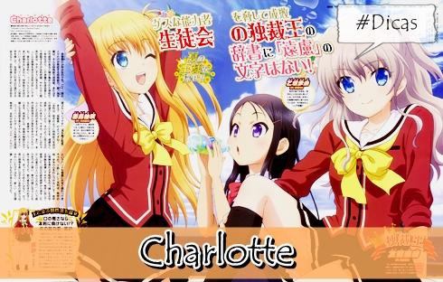 Charlotte / Parceria entre P. A. Works e Aniplex