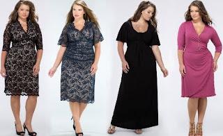 modelos de vestidos em tamanho grande