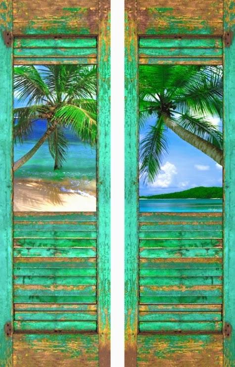 Coastal Art Shutters Idea By Karen Grace Shop The Look