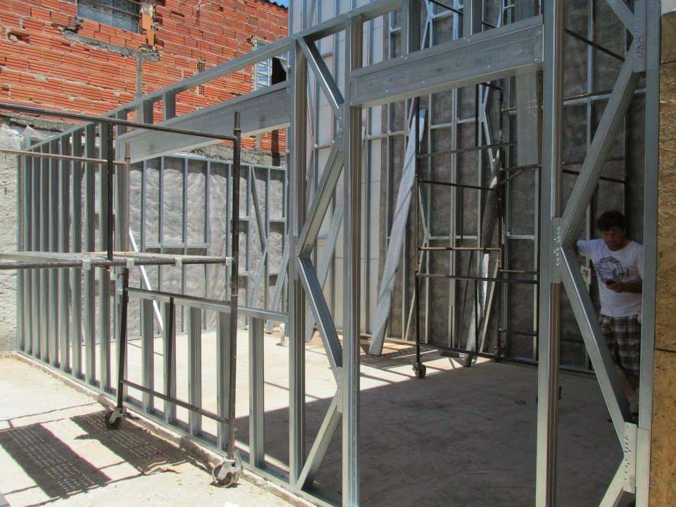 Steelframe falando de constru o civil facilidades do - Casas steel framing ...