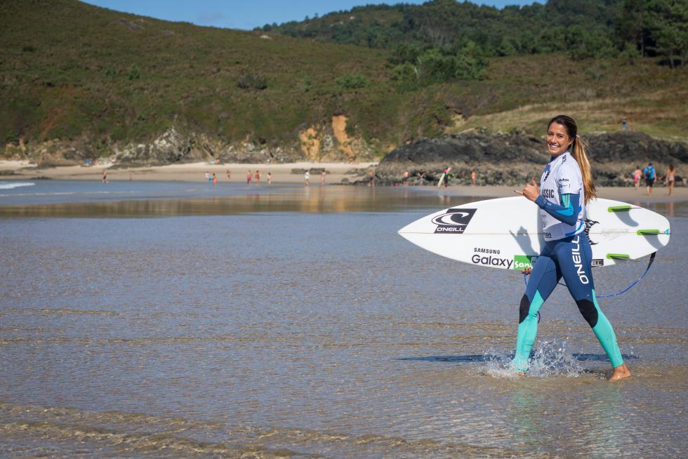 37 Malia Manuel HAW Pantin Classic Galicia Pro 2015 Foto WSL