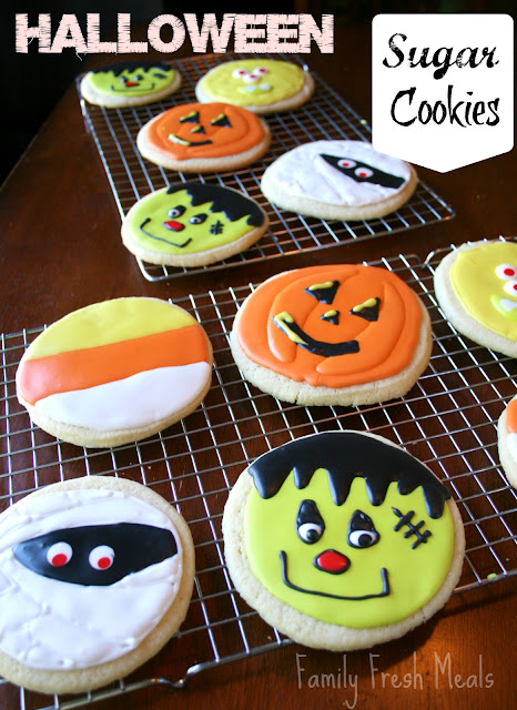 Soft Sugar Cookie Recipe Halloween Style