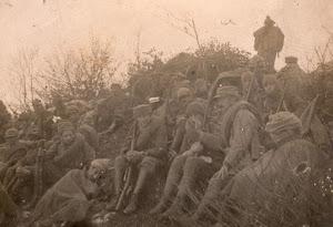 Alba del 23 ottobre. Fronte Italiano. I Guerra Mondiale