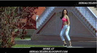 Tamanna in low hip pant