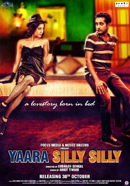 Poster Of Yaara Silly Silly 2015 720p HDRip Hindi