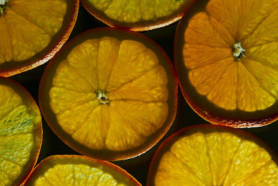 Backlit Oranges