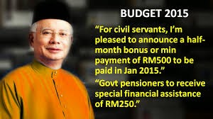 Bonus For Civil Servants In January 2015