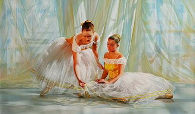Pinturas Mujeres Bailarinas de Balet
