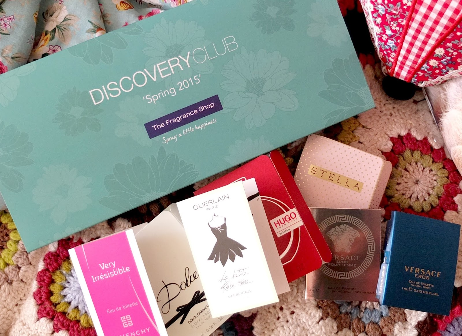 the fragrance shop discovery club perfume subscription box on hello terri lowe UK beauty blog.