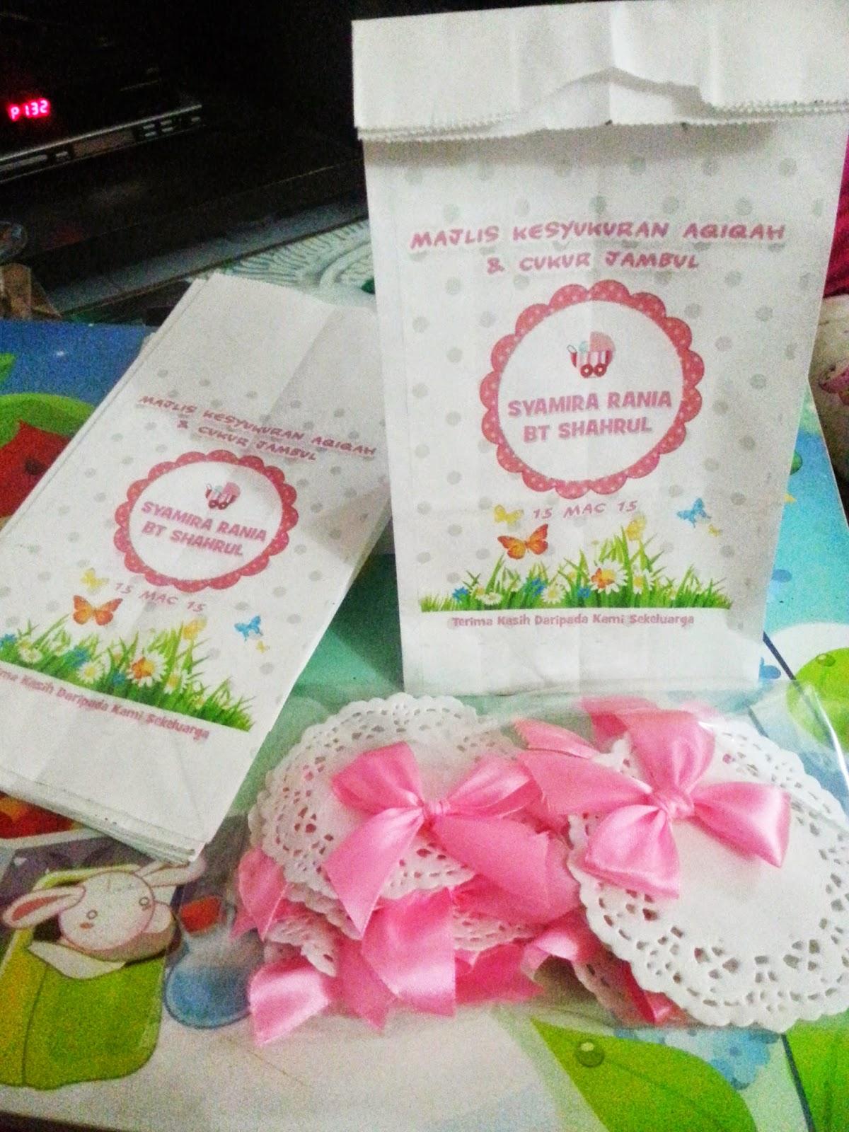 paper bag aqiqah