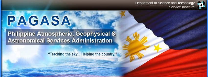 PAGASA DOST weather forecast 2014